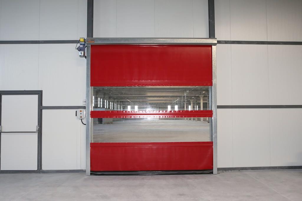 Yüksek Hızlı PVC Sarmal Kapı